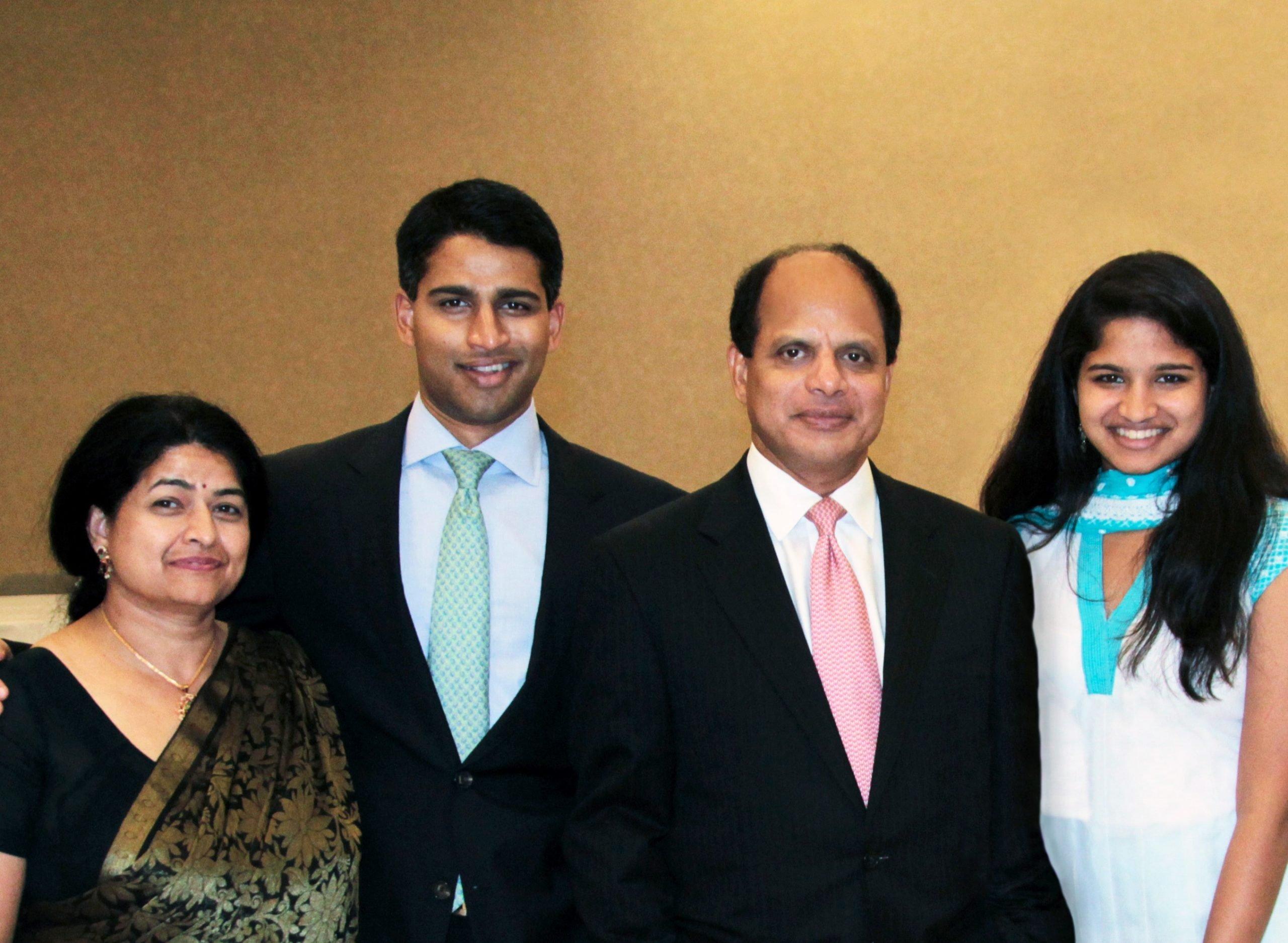 Ravi Melagiri & Family